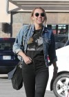 Miley Cyrus Out In Studio City-01