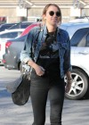 Miley Cyrus Out In Studio City-02