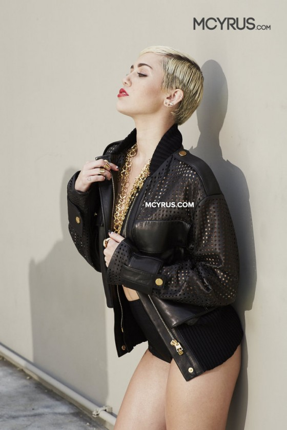 Miley Cyrus: Brian Bowen Smith Photoshoot -02