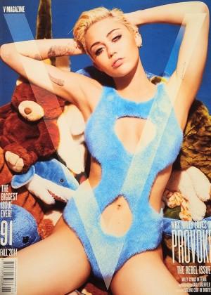 Miley Cyrus - V Magazine Cover (Fall 2014)