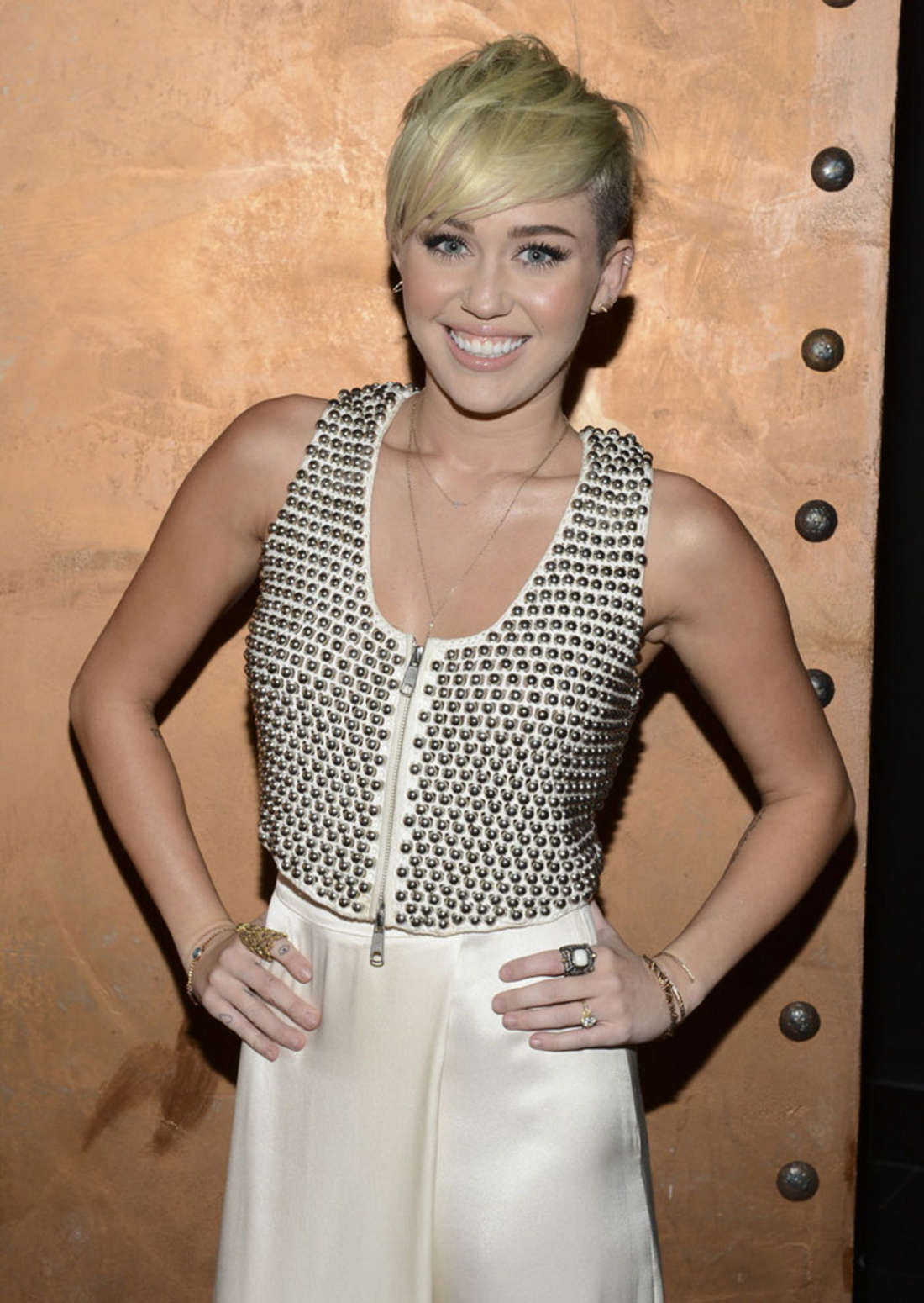 Miley Cyrus at City Of Hope Gala-06