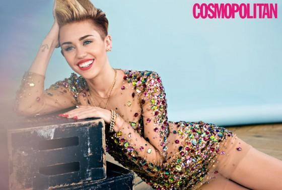 Miley Cyrus: Cosmopolitan Magazine -01