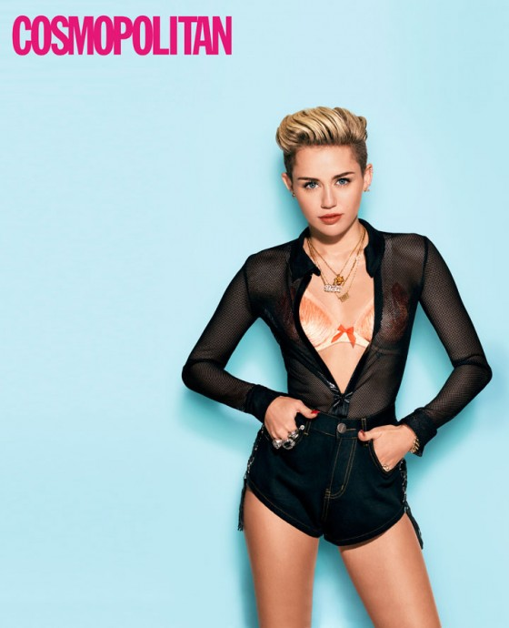 Miley Cyrus: Cosmopolitan Magazine -02