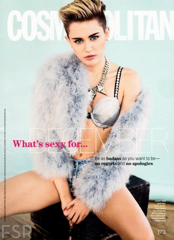 Miley Cyrus: Cosmopolitan Magazine -05