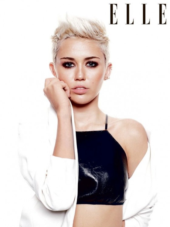 Miley Cyrus - Elle UK 2013-14