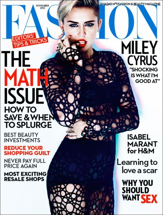 Miley Cyrus - Fashion Magazine 2013 -01