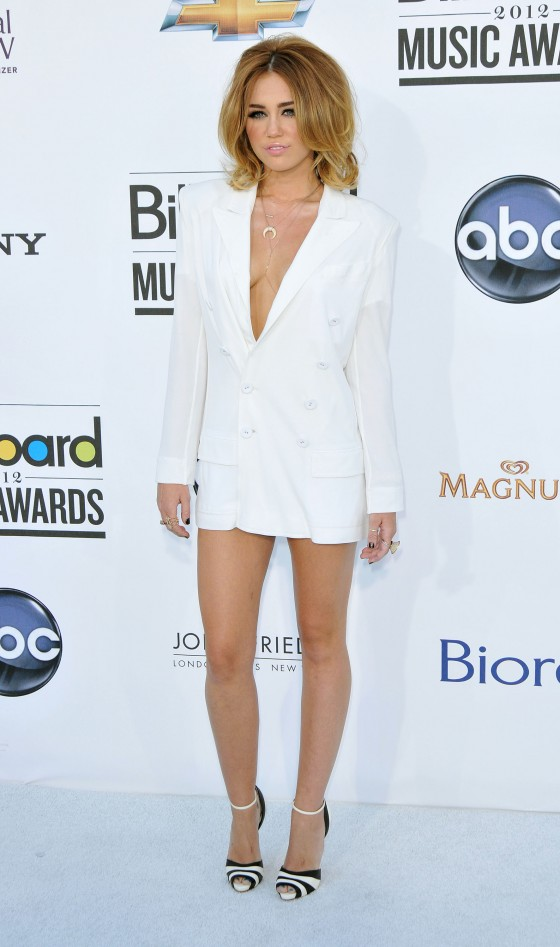 Miley Cyrus – Hit Up 2012 Billboard Music Awards in Las Vegas-18