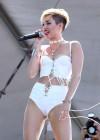 Miley Cyrus Photos: iHeartRadio 2013 Performance-45
