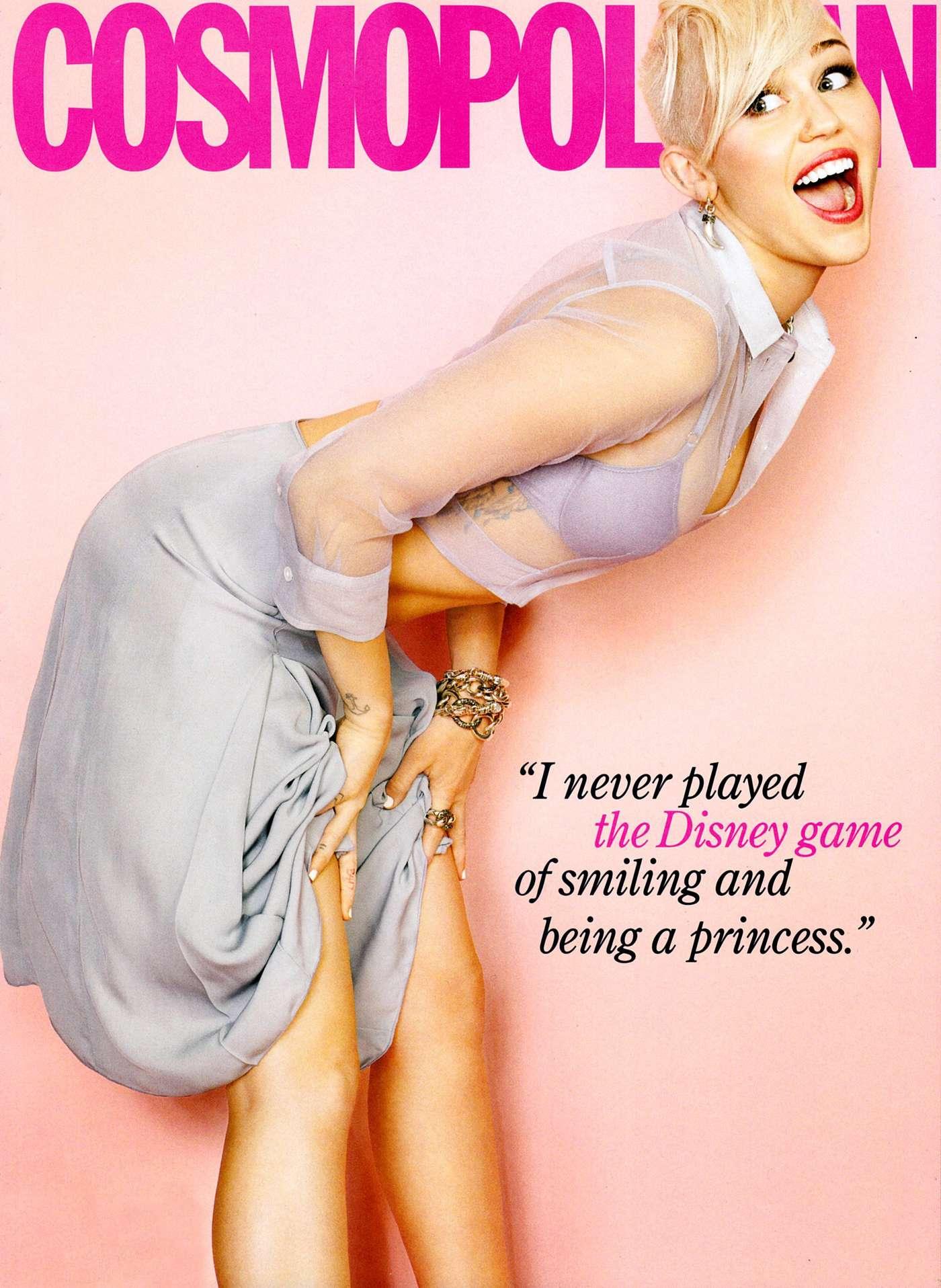 Miley Cyrus 2013 : Miley Cyrus in Cosmopolitan 2013 -03