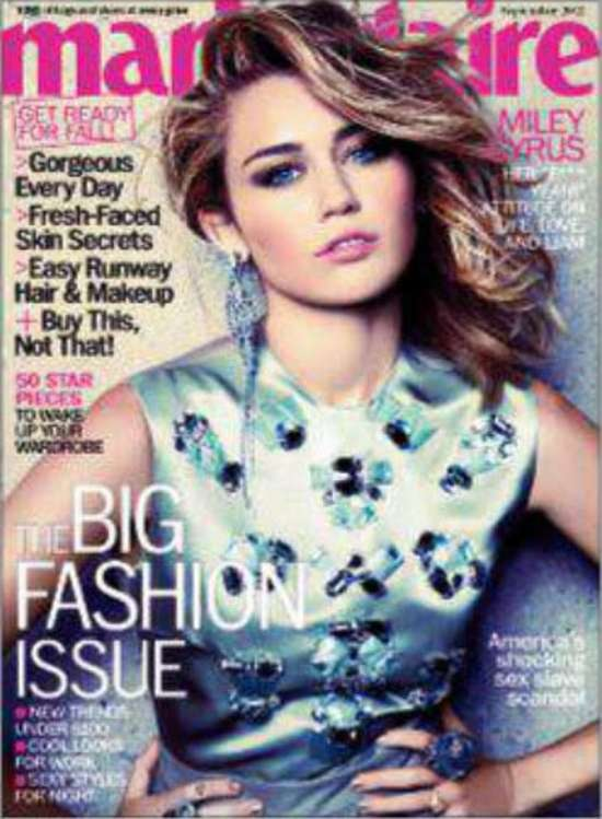 Miley Cyrus hot for Marie Claire Magazine