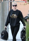 Miley Cyrus - goes to the recording studio in Burbank 1/4/13