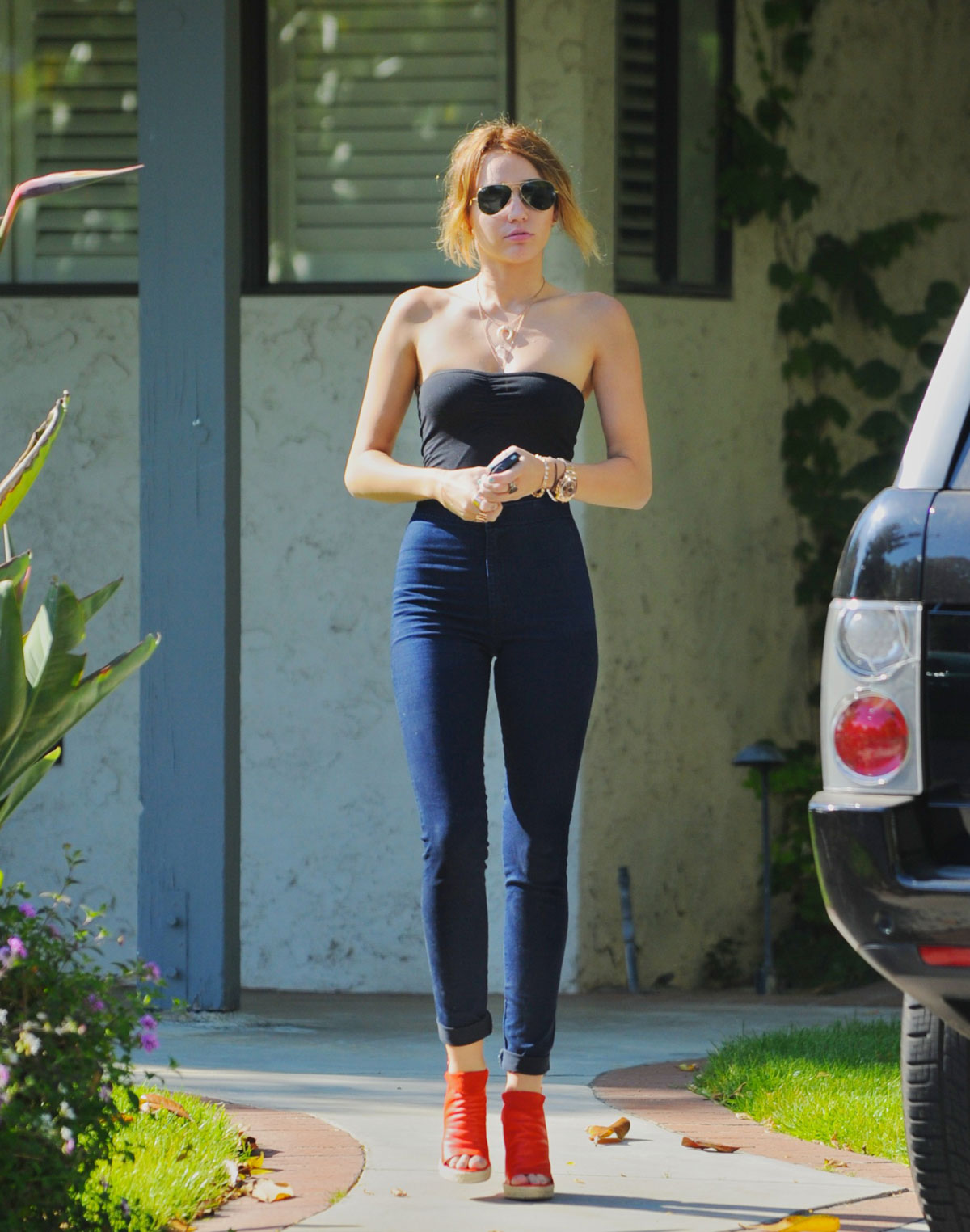 Miley Cyrus Jeans Candids In La 08 Gotceleb