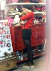 Miley Cyrus - Leggy at Pet Store-09