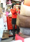 Miley Cyrus - Leggy at Pet Store-11