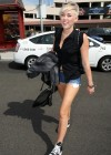 Miley Cyrus - Leggy in Burbank