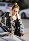 Miley Cyrus - Leaving a Pet Store in Studio City-02