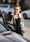 Miley Cyrus - Leaving a Pet Store in Studio City-09