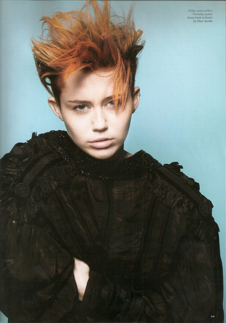 Miley Cyrus: Love Magazine -02
