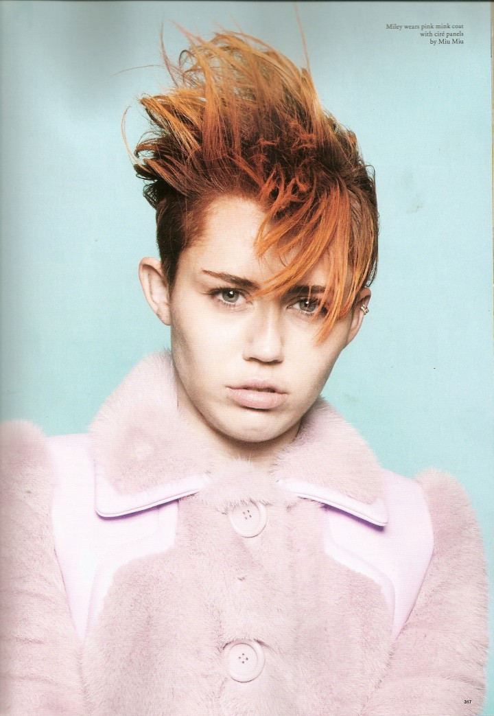Miley Cyrus: Love Magazine -05