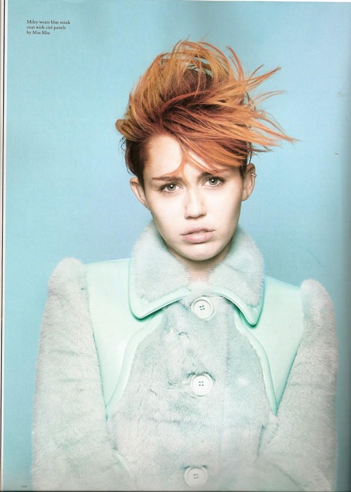 Miley Cyrus: Love Magazine -06