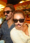 Miley Cyrus - Mustache in New Personal twitter Photo