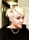 Miley Cyrus - New Short Haircut