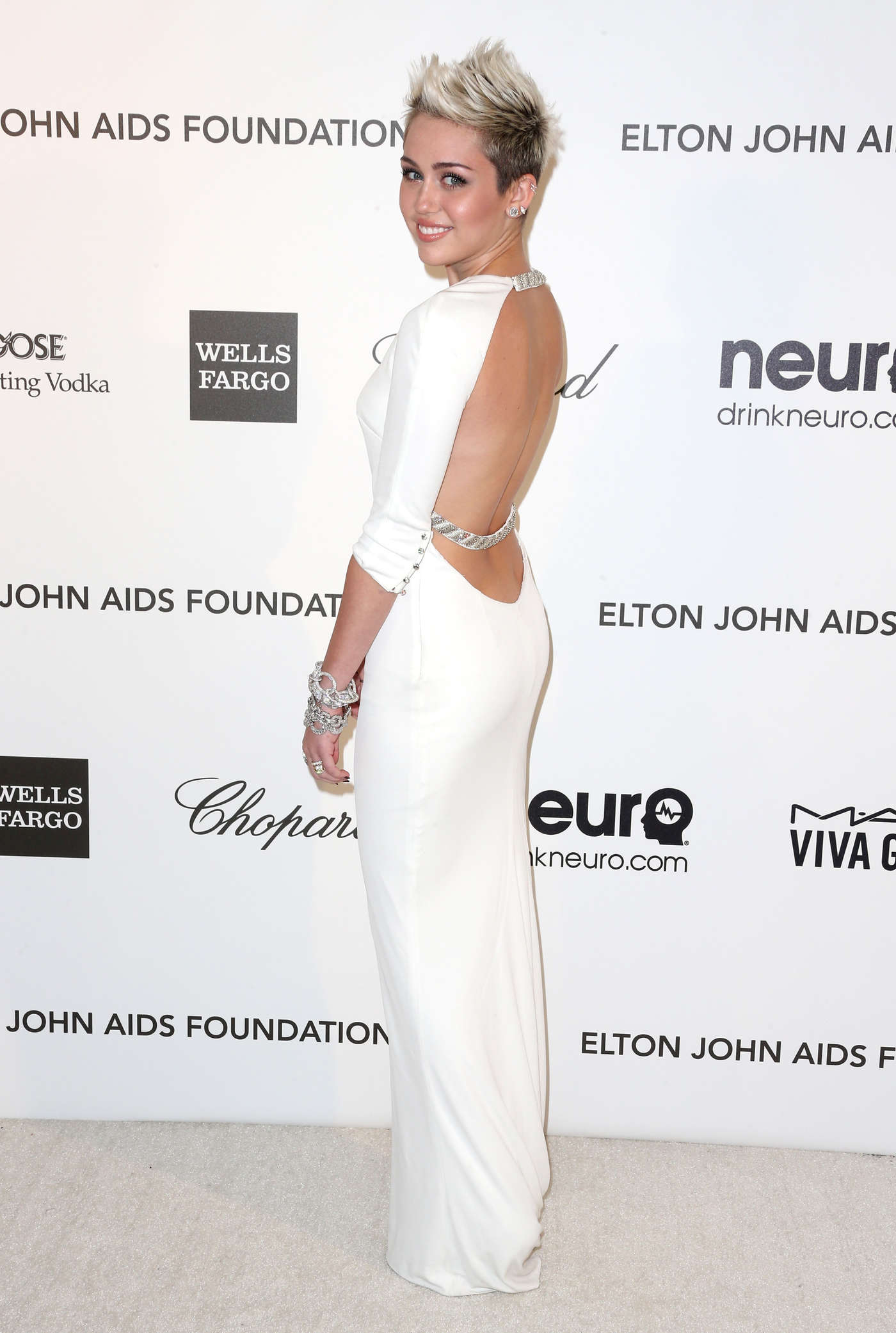 Miley Cyrus White Dress | But Dress