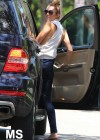 Miley Cyrus - out in Toluca Lake-08