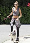 Miley Cyrus - Out with Her Dog for a Jogging-08