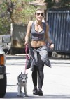 Miley Cyrus - Out with Her Dog for a Jogging-09