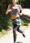 Miley Cyrus - Out with Her Dog for a Jogging-15