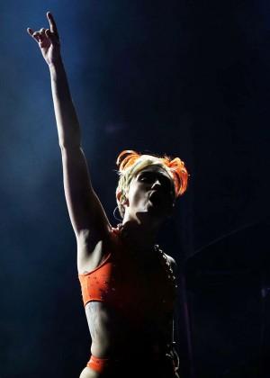 Miley Cyrus - Bangerz Tour in Sydney -23