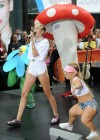 Miley Cyrus in White Shorts Performing on the Today show -19