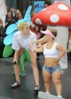 Miley Cyrus in White Shorts Performing on the Today show -51