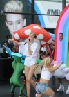 Miley Cyrus in White Shorts Performing on the Today show -55
