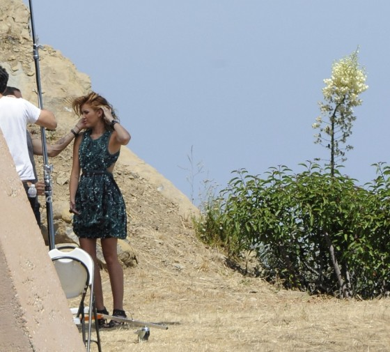 Miley Cyrus – Photoshoot in Malibu-17