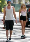 Miley Cyrus - out skateboarding-13