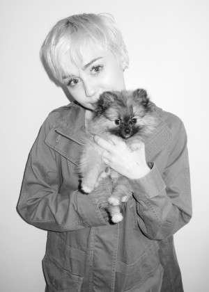 Miley Cyrus - Terry Richardson photoshoot -08