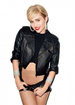 Miley Cyrus by Terry Richardson Photoshoot 2014
