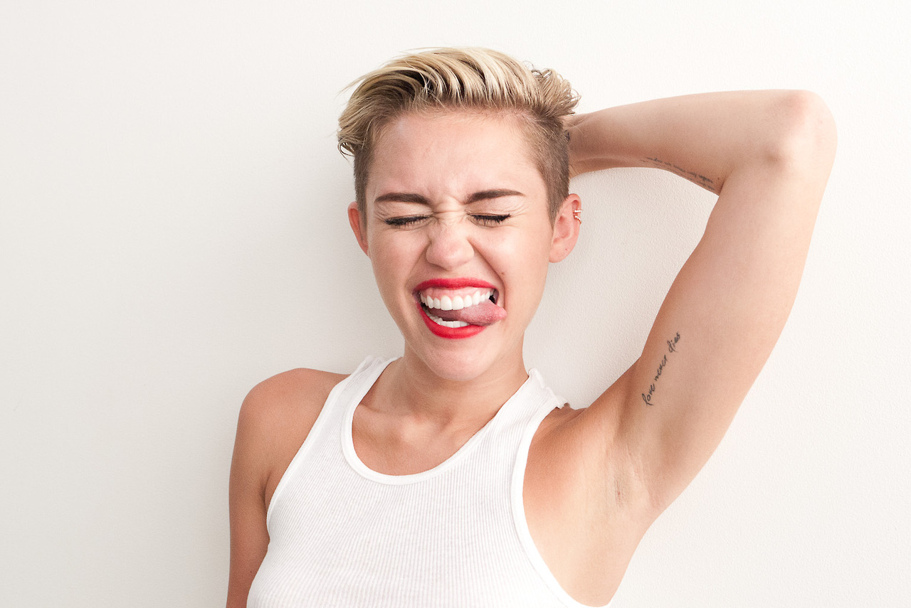 Miley Cyrus Photos: Terry Richardson (September 2013) -05 ...