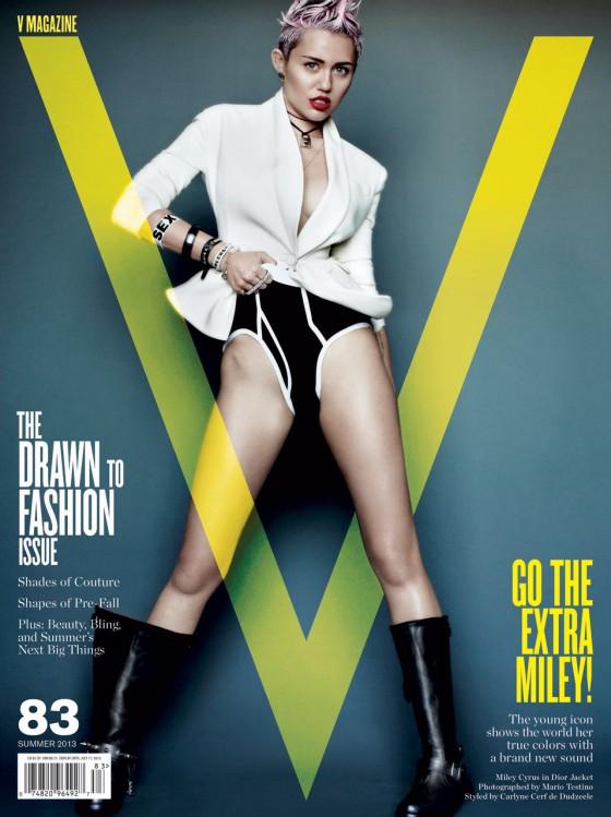 Miley Cyrus - V magazine -06