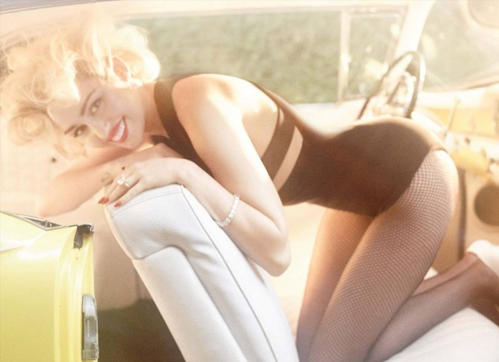 Miley Cyrus: Vogue Germany 2014 -05