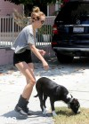 Miley Cyrus - With Her Dog-08