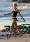 Miley Cyrus In Bikini on a beach in Costa Rica-05