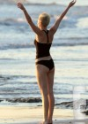 Miley Cyrus In Bikini on a beach in Costa Rica-16
