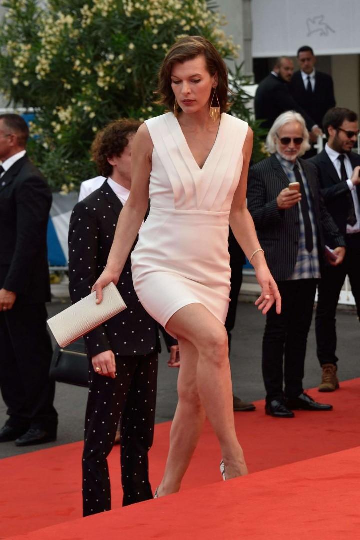 Milla Jovovich: Cymbeline Premiere at 71st Venice Film Festival -05