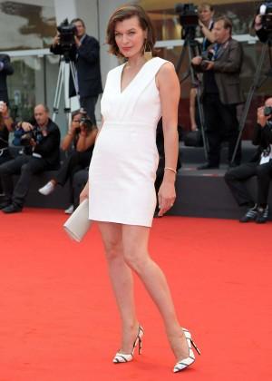 """Milla Jovovich - """"Cymbeline"""" Premiere at 71st Venice Film Festival"""