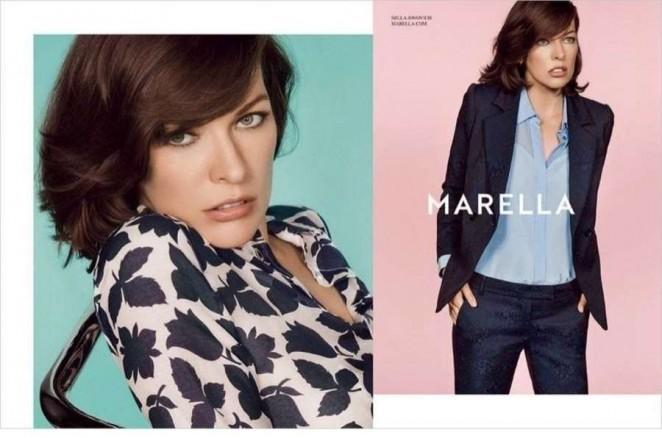 Milla Jovovich - Marella Spring 2015 Campaign