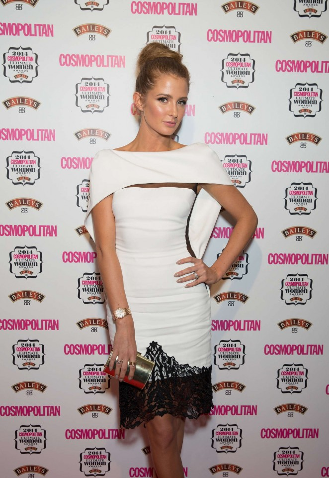 Millie Mackintosh - 2014 Cosmopolitan Ultimate Women Awards in London
