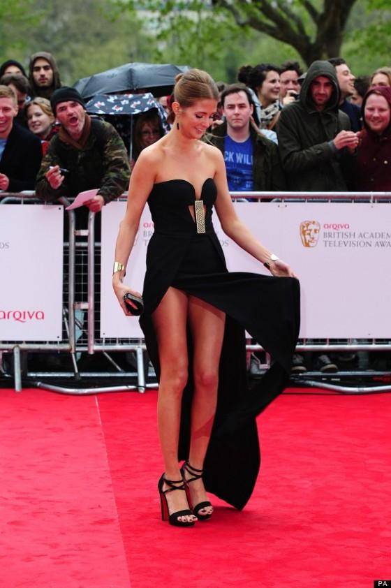 Millie Mackintosh - BAFTA 2013-01